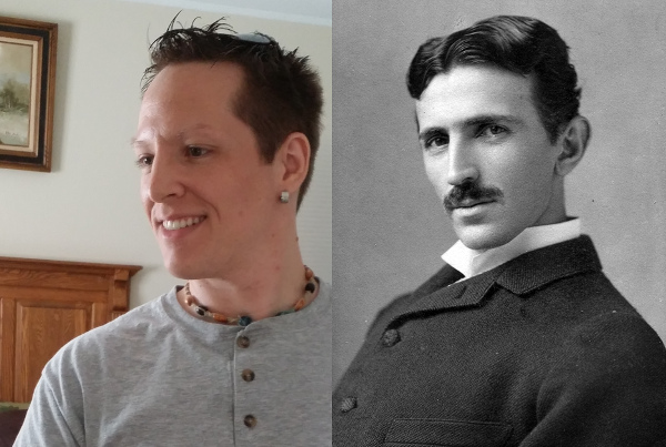 Tesla and Rick