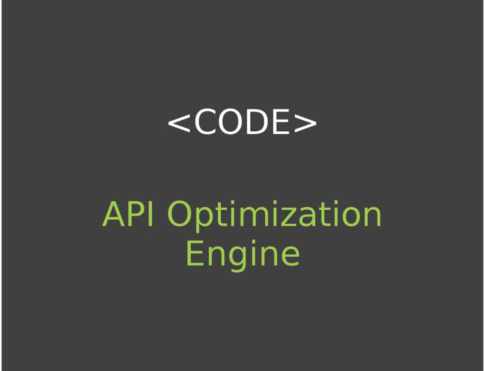API Optimization Engine [AOE] – An API Call Server