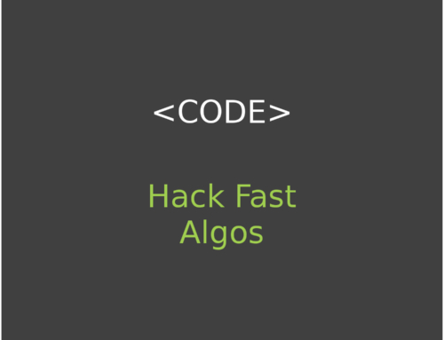 Hack Fast Algos – Algorithm and Data Structure Library
