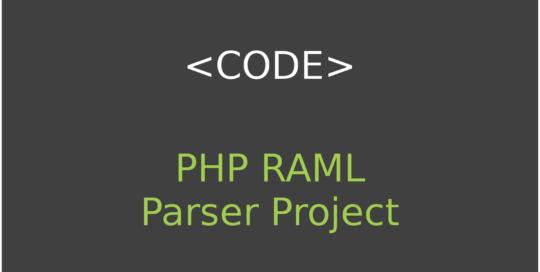 PHP RAML Parser