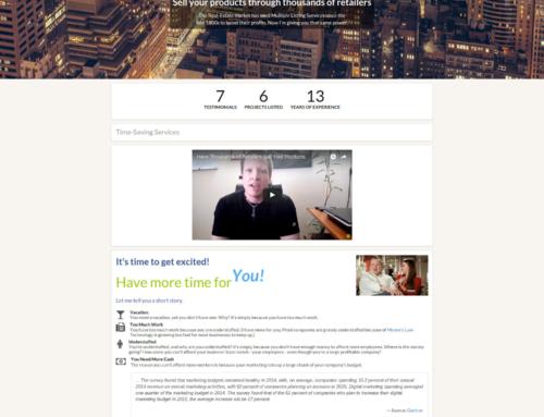 Automation: Rick Mac Gillis' Business Website